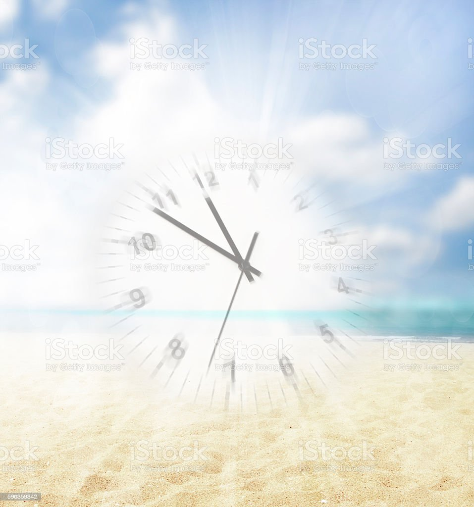 Time in motion royalty-free stock photo