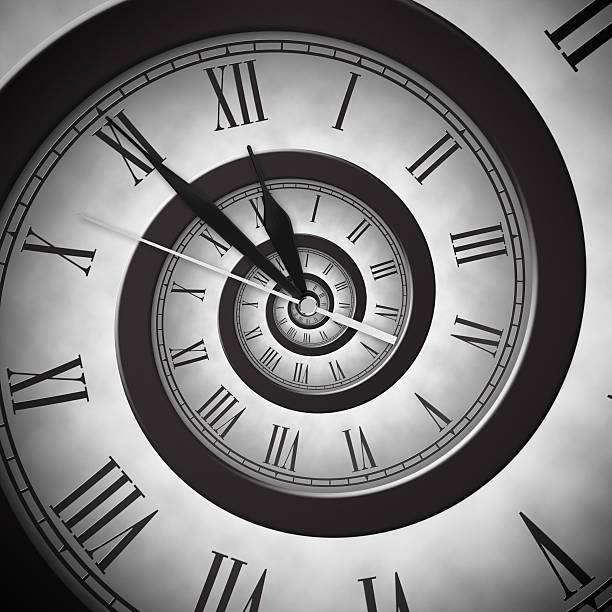time infinity - distorted image stock pictures, royalty-free photos & images