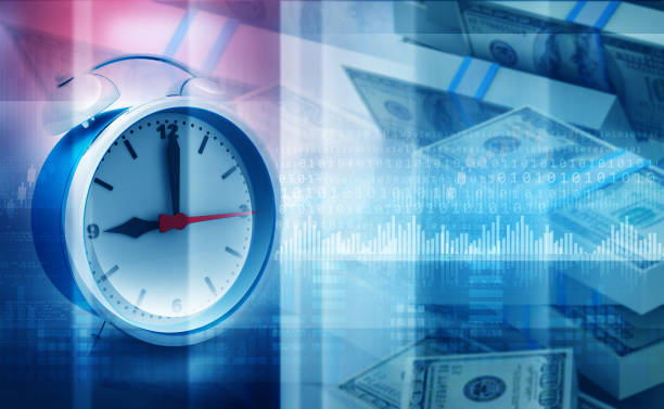 Time is money concept Time is money concept. 3d illustration time is money stock pictures, royalty-free photos & images