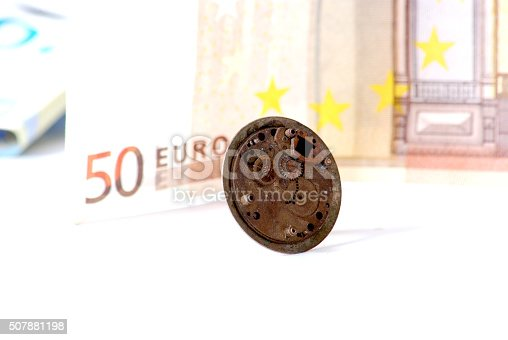 istock Time is money concept 507881198