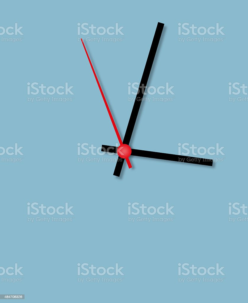 Time is money friend stock photo
