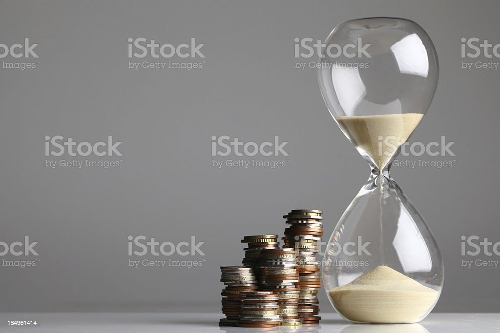 Time is money royalty-free stock photo
