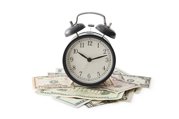Time is money Time is money, Isolated on white, Clipping Path time is money stock pictures, royalty-free photos & images
