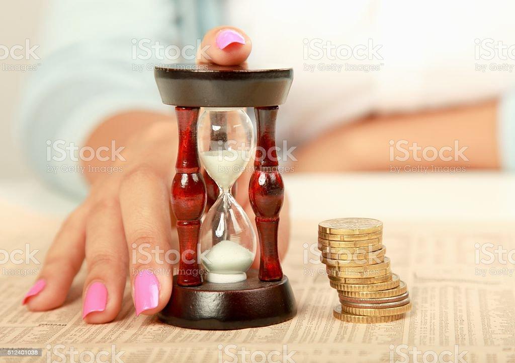 Temps est de l'argent - Photo