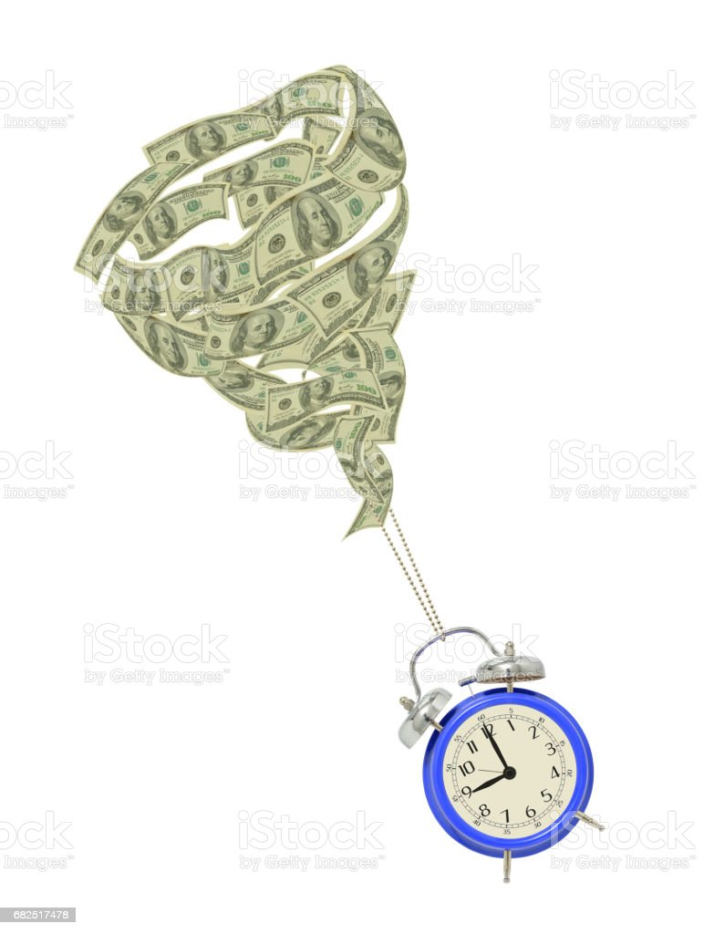 Time is Money foto de stock libre de derechos