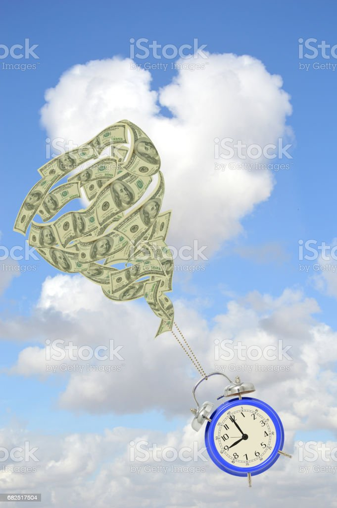 Time is Money foto stock royalty-free