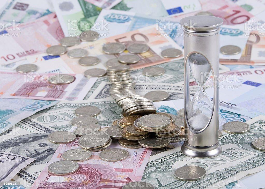 El tiempo es dinero foto de stock libre de derechos