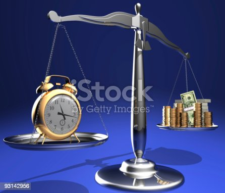istock Time is money 93142956