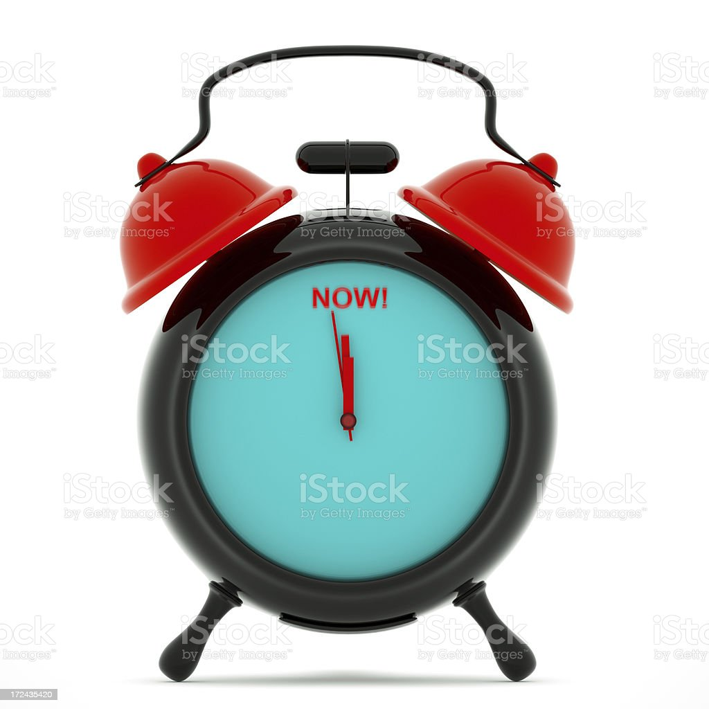 Time is Now royalty-free stock photo
