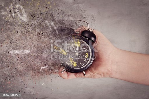 istock Time is running out 1097346278