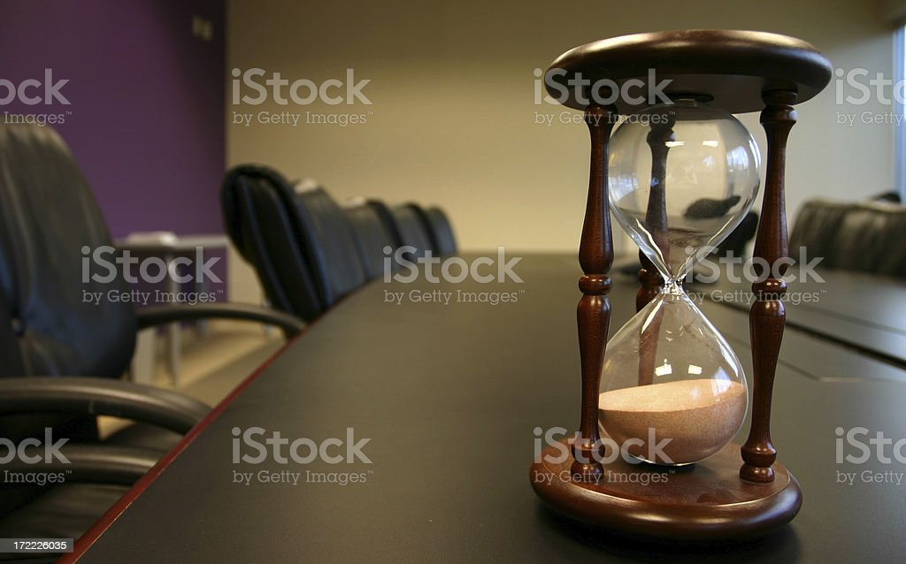 Time is Running Out royalty-free stock photo