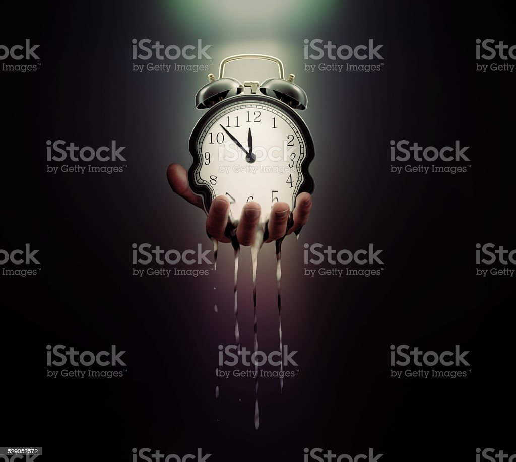 Time is running out stock photo