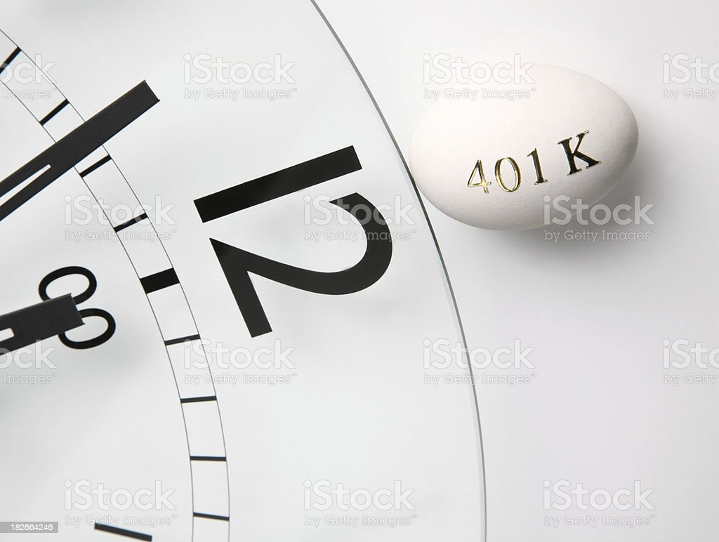 Time is running out to invest royalty-free stock photo