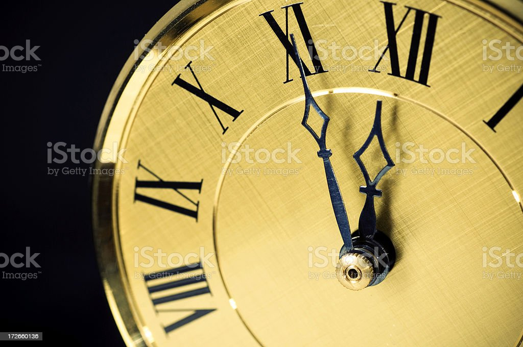Time is running royalty-free stock photo