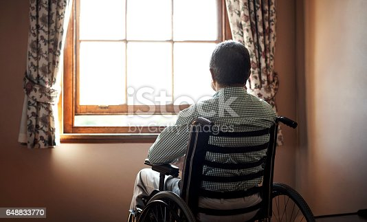 istock Time is taking its toll on my aging body 648833770