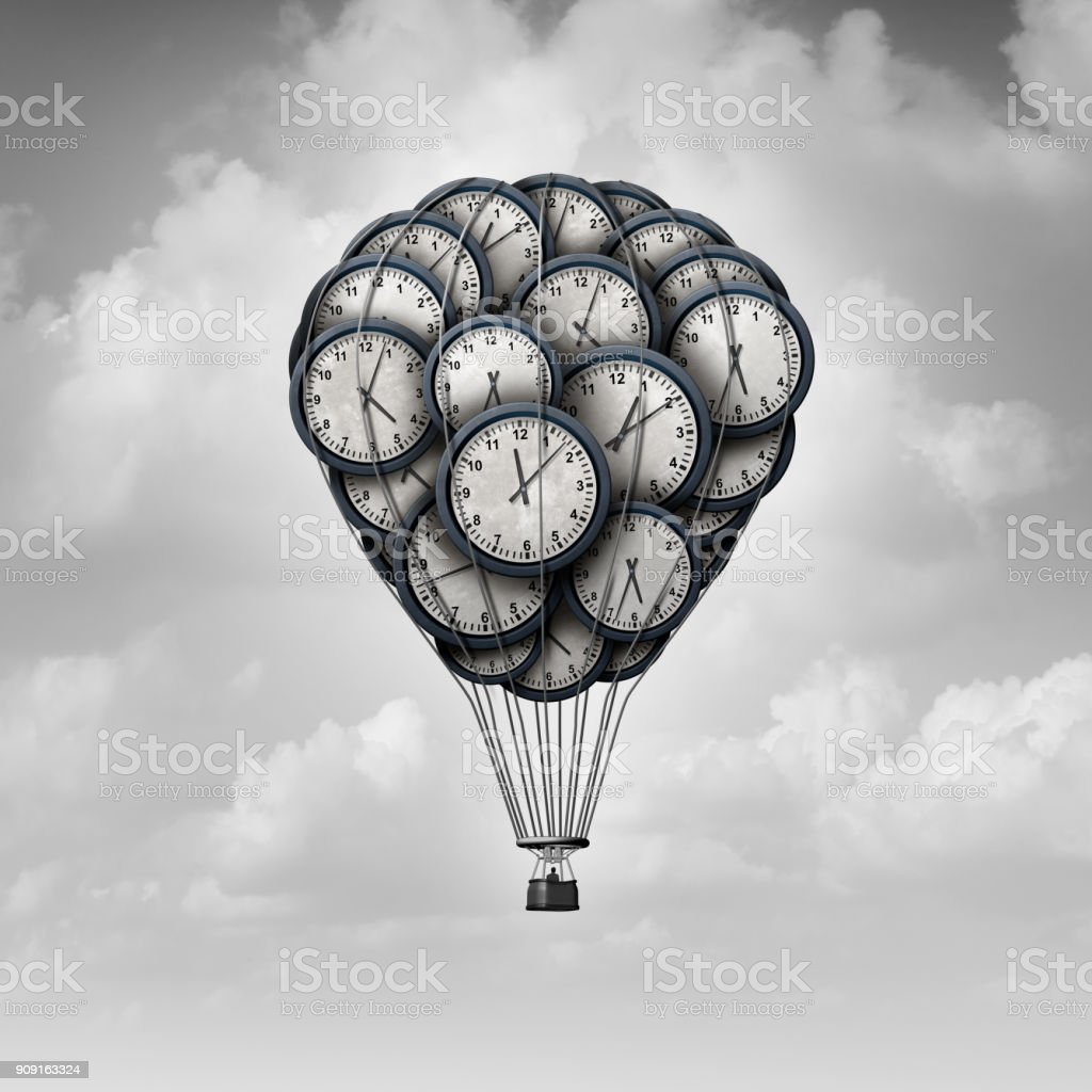 Time Journey Concept stock photo
