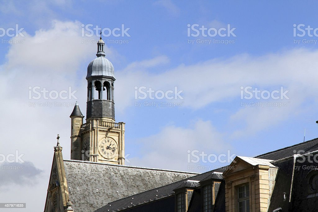 Time Keeping Architecture stock photo