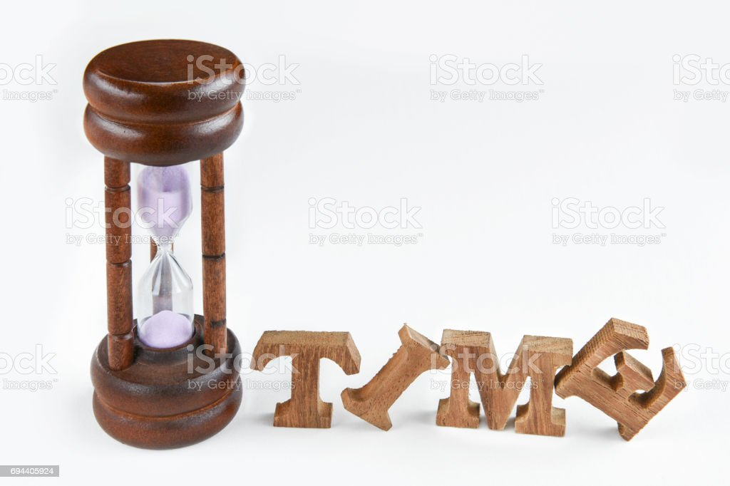 Time management concept and team building idea stock photo