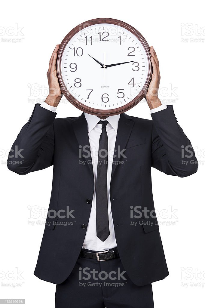 Time management. royalty-free stock photo