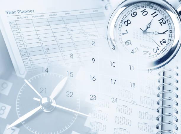時間の管理  - 出勤 ストックフォトと画像