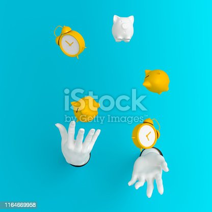 istock Time management save money concept 1164669958