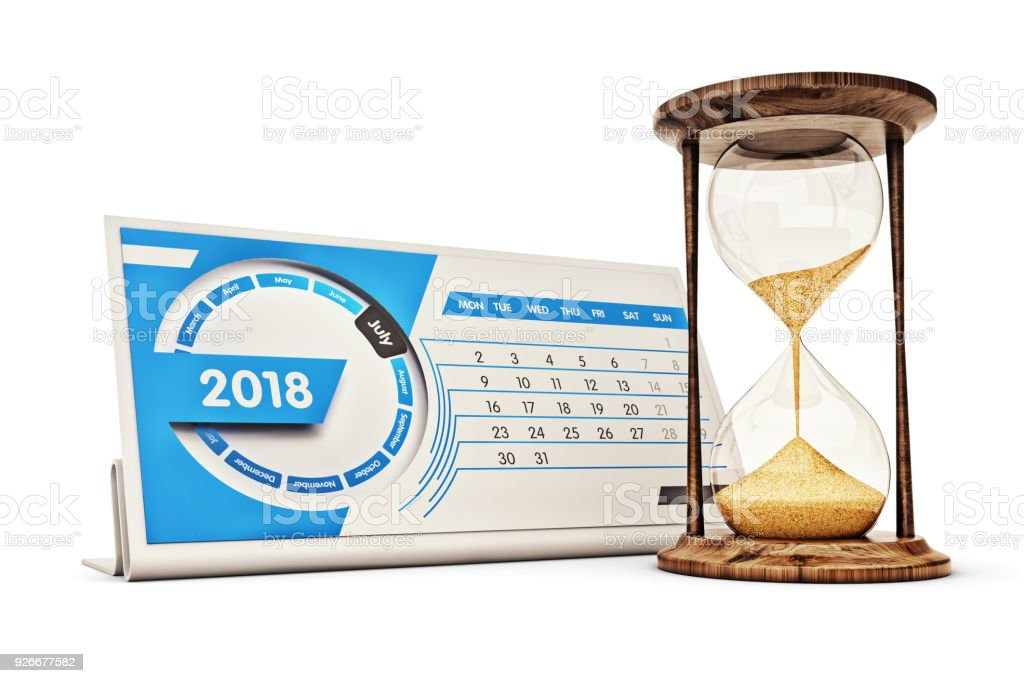 Time management, schedule and deadline concept stock photo