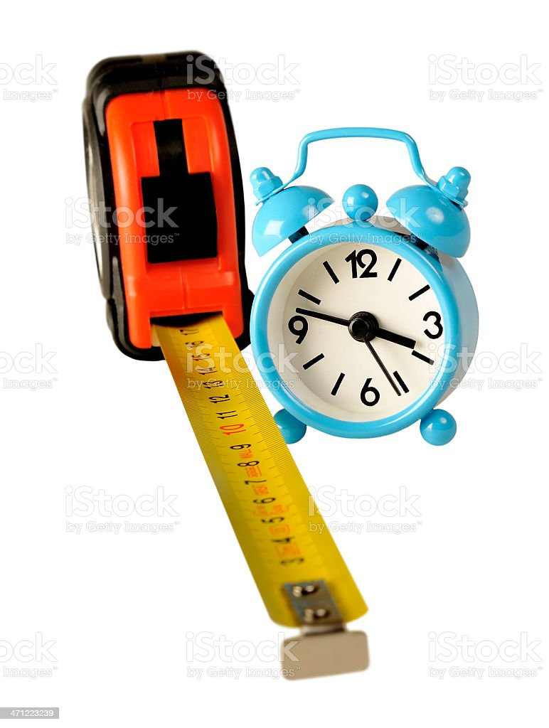 Time measure royalty-free stock photo