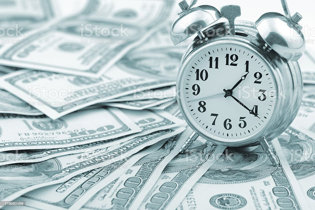 Time - money. Business concept. royalty-free stock photo