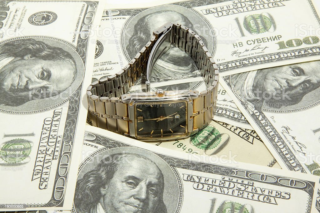 시간-돈을 royalty-free 스톡 사진
