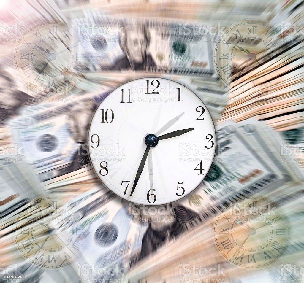 Time & Money stock photo