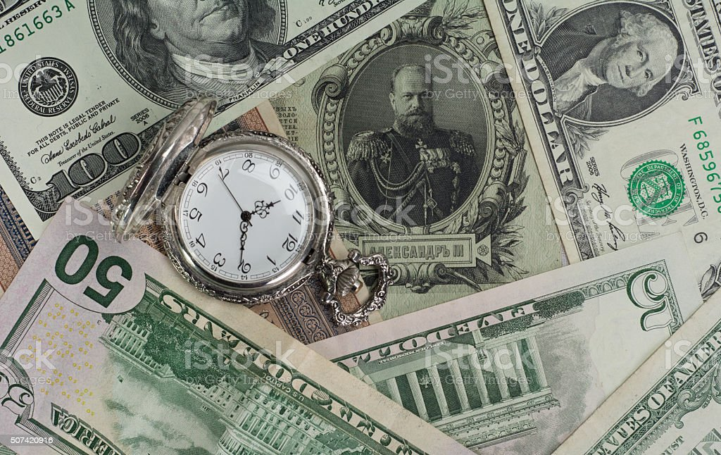 Time Money Value Old Money New Money Stock Photo - Download