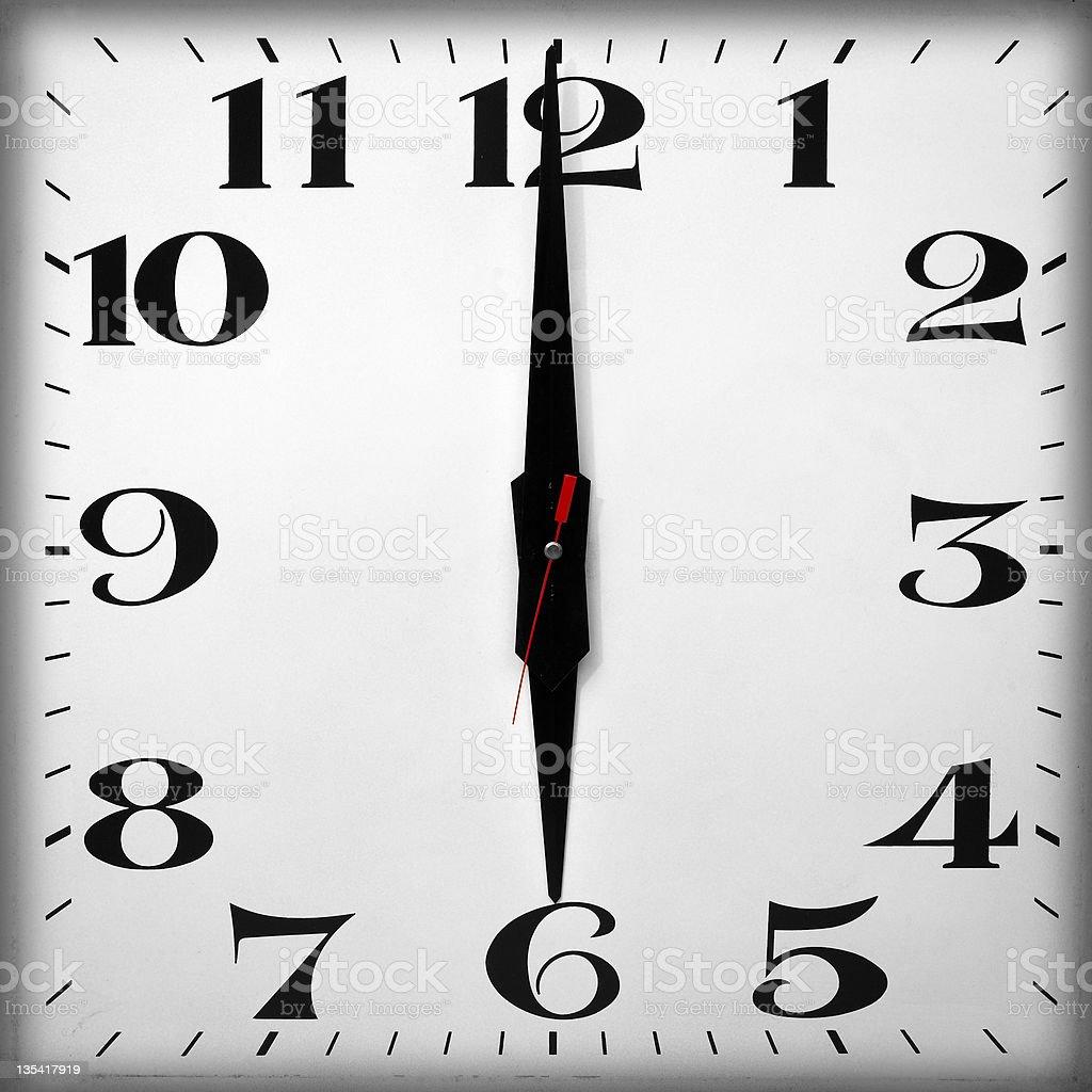 Tageszeit, 18.00 Uhr – Foto