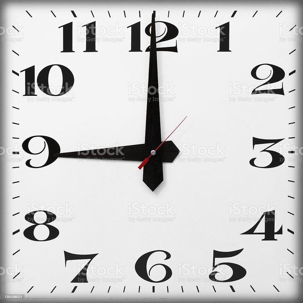 Tageszeit, 9 Uhr – Foto