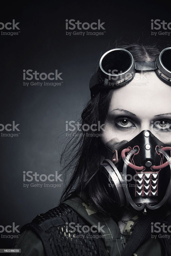Time of misery royalty-free stock photo