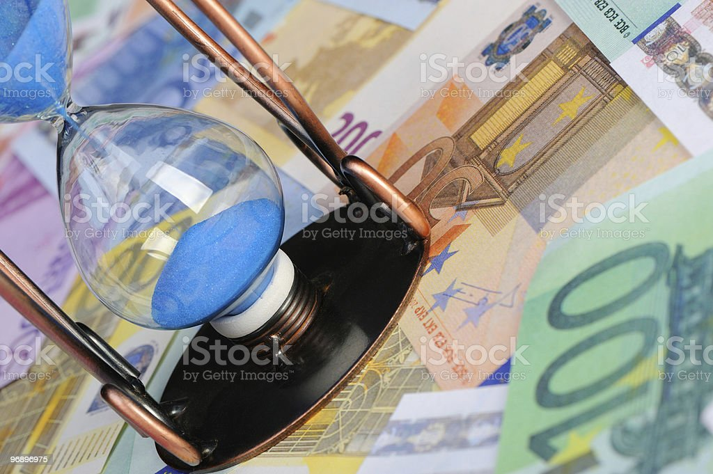 Time of money royalty-free stock photo