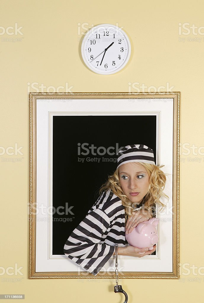 time of the crime royalty-free stock photo