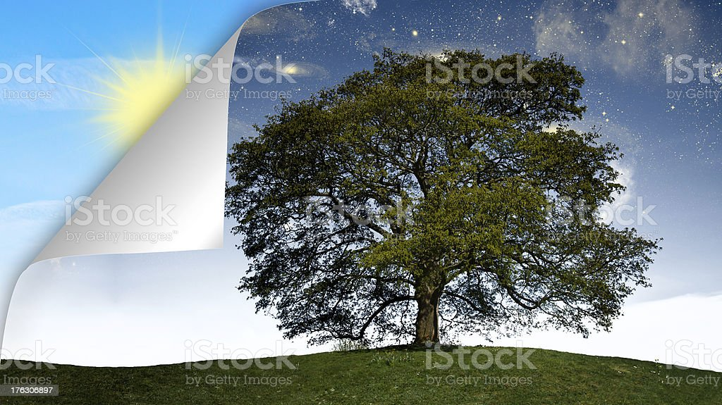 time passing concept stock photo