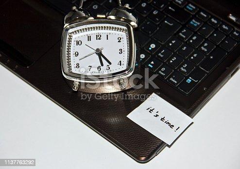 1129545215 istock photo Time 1137763292
