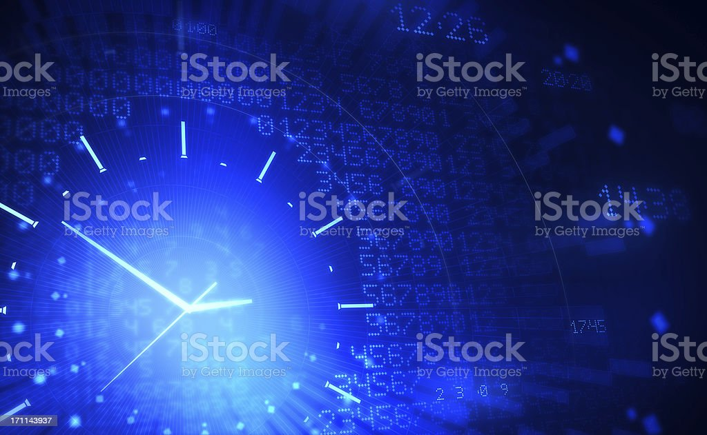 Time Time Abstract Stock Photo