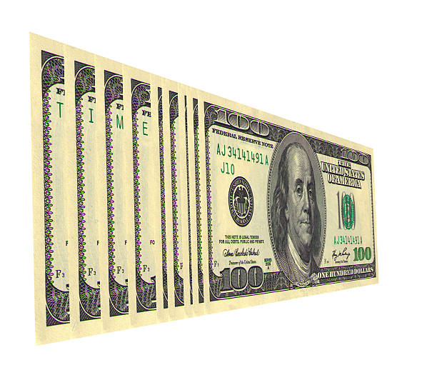 Time Serial numbers on dollar bills draw up words debenture stock pictures, royalty-free photos & images