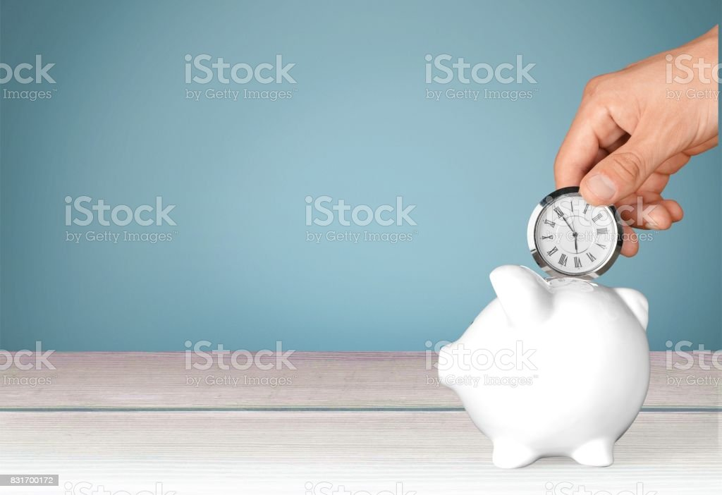 Time. stock photo