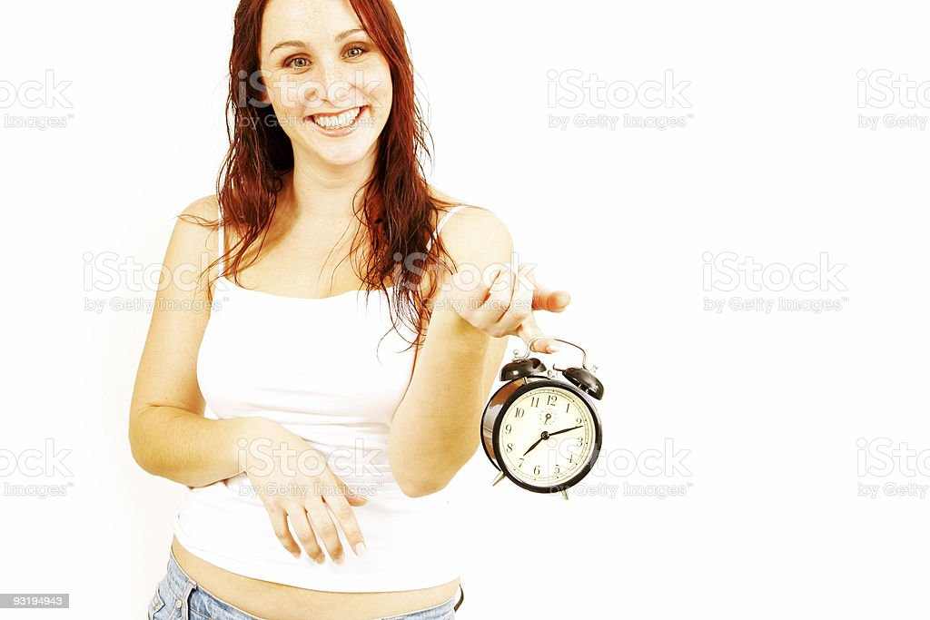 Time? royalty-free stock photo