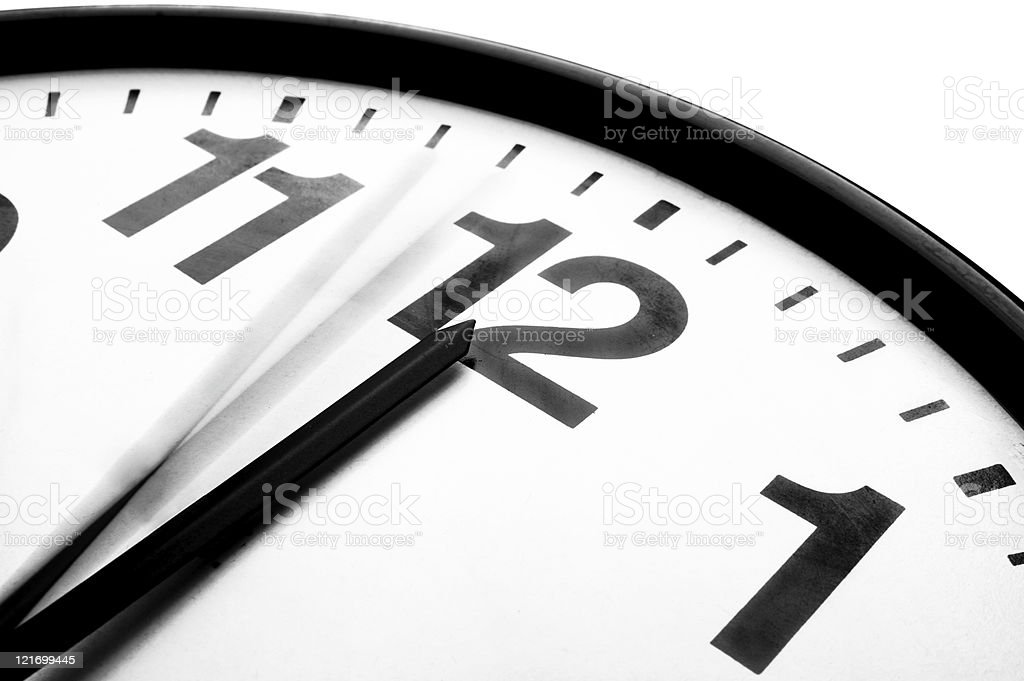 Time Running Out stock photo