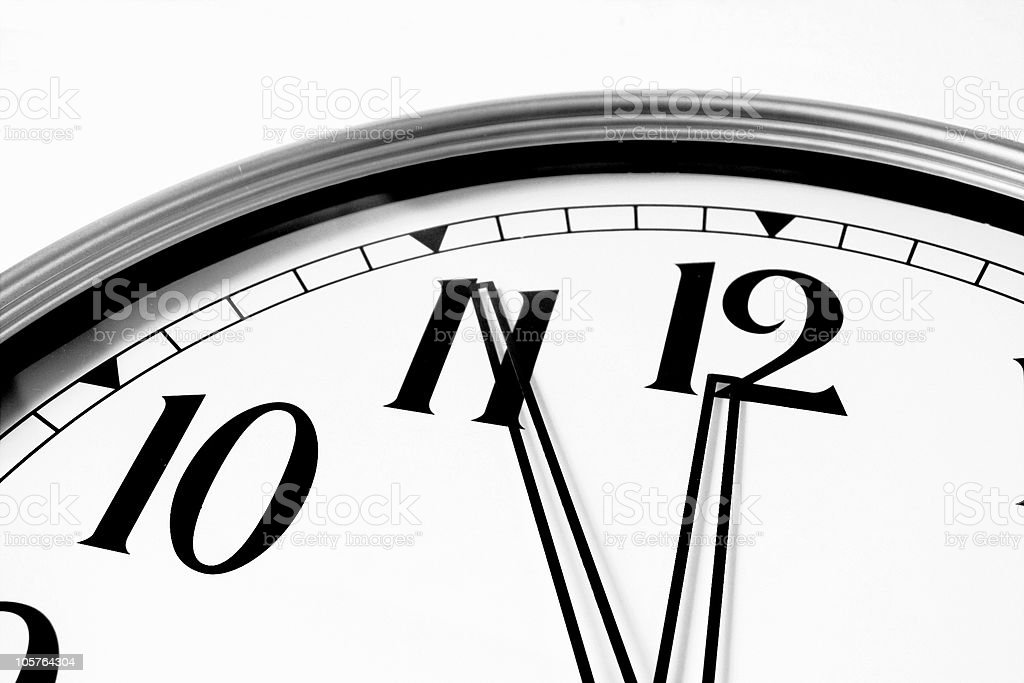 Time Runs Out royalty-free stock photo