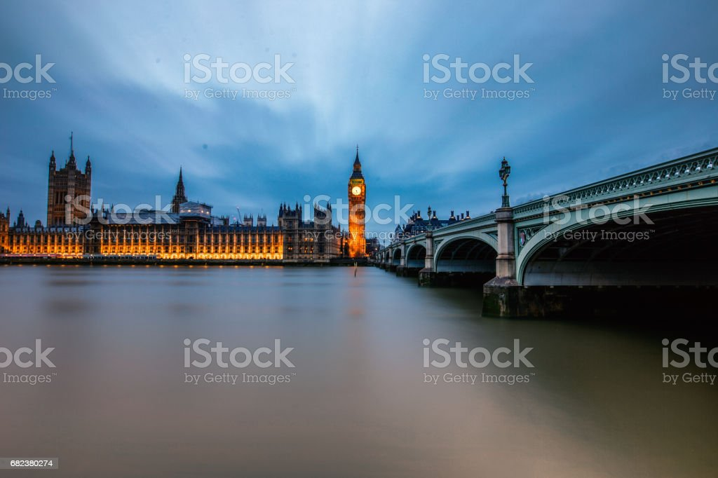 time slice of bigben foto stock royalty-free