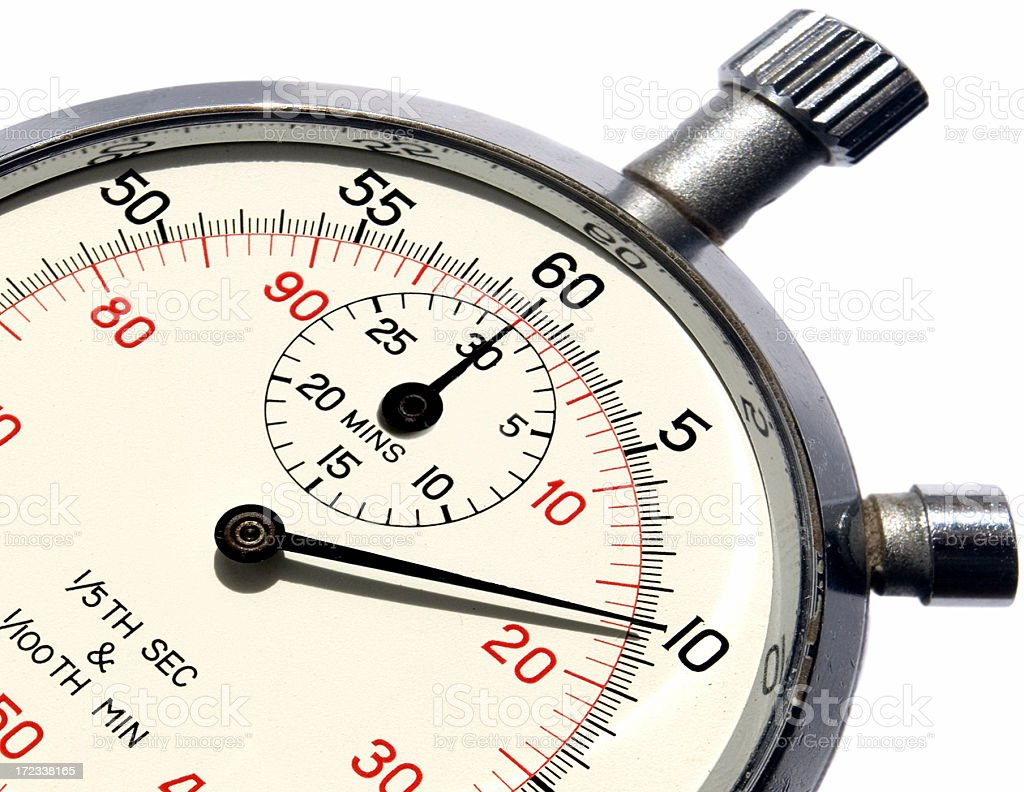 Time Snippet - Royalty-free Checking the Time Stock Photo