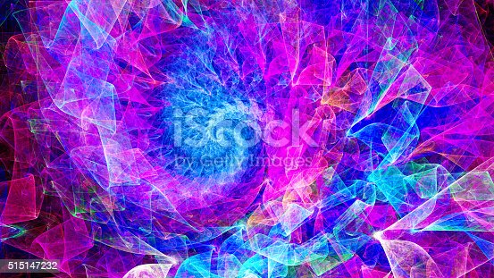 Time Spiral. Kaleidoscope of consciousness. Mysterious psychedelic relaxation wallpape. Sacred geometry. Fractal Wallpaper pattern desktop. Digital artwork creative graphic design.
