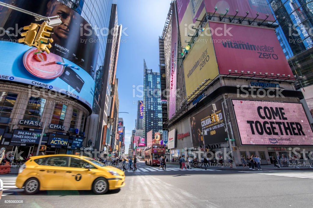 Time Square, New York City stock photo