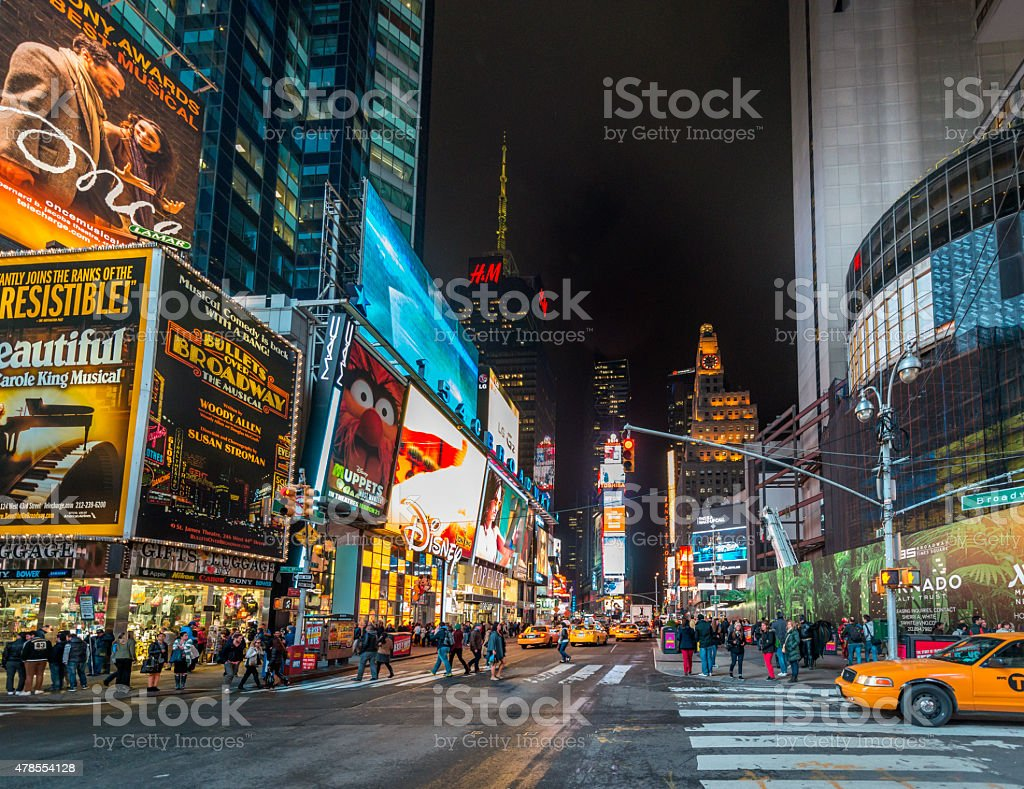 Time Square, New York, USA stock photo