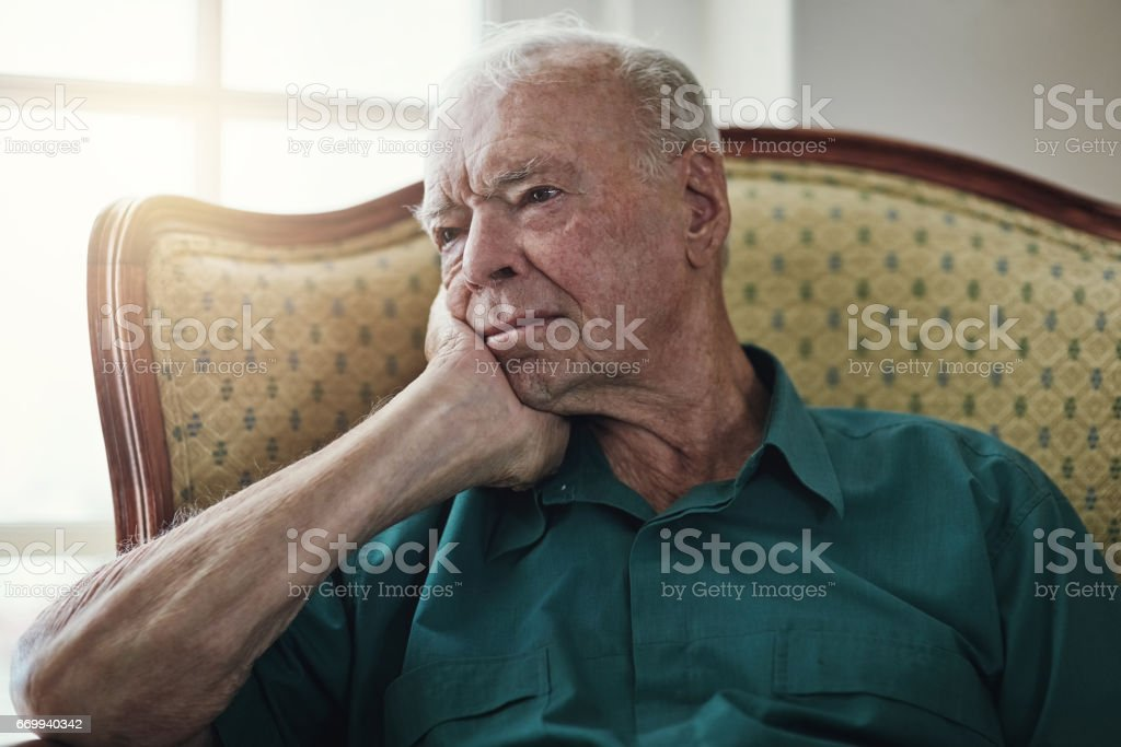 Time stands still when you're old stock photo